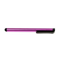 Pióro dotykowe, pojemnościowe, metal, fioletowe, do iPad i tableta