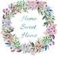 Home sweet home - plakat wymiar do wyboru: 60x80 cm