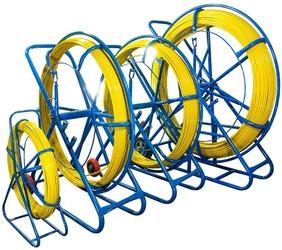 Włókno szklane do przeciągania kabli 11mm  250m pilot  stalka pe + stojak - szybka dostawa lub możliwość odbioru w 39 miastach