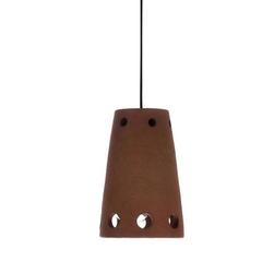 HK Living :: Lampa wisząca z terakoty numer 2 - 10x10x15,5 || 10x10x15 || 5