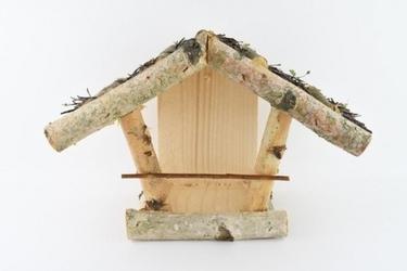 Karmnik dla małych ptaków – mocowany do ściany knr4