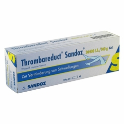 Thrombareduct Sandoz 30 000 I.e. Gel