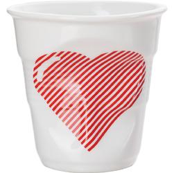 Kubek porcelanowy do cappuccino Revol Serce RV-648583-6