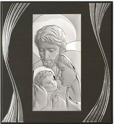 Obrazek BC6638F2X Święta Rodzina 20,7 x 22,8 cm.