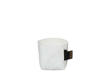 Osłonka gnieciona oslo biała 7cm oohh - biały