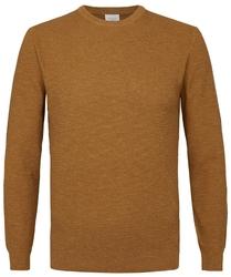 Pullover ze ściągaczem musztardowy s
