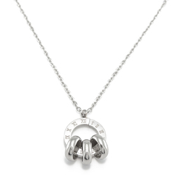 Naszyjnik całoroczny singiel srebrny - srebrny