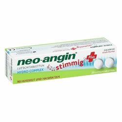 Neo Angin stimmig Plus Kirsche Lutschtabletten