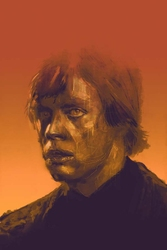 Mark Hamill - plakat premium Wymiar do wyboru: 42x59,4 cm