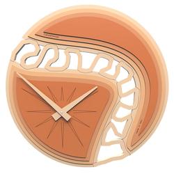 Zegar ścienny Canyon CalleaDesign terakota 10-102-24