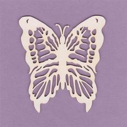 Dekoracyjny motyl 6x7 cm - 02