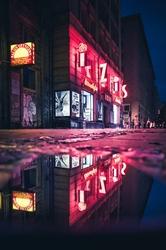 Neon - plakat premium Wymiar do wyboru: 20x30 cm
