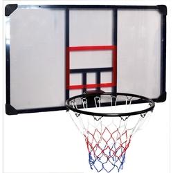 Zestaw kosz do koszykówki tablica obręcz enero 112x72cm + piłka spalding platinum zk legacy indoor