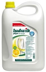Ludwik cytryna, płyn do zmywania naczyń, 5kg