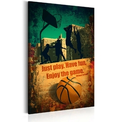 Obraz - enjoy the game