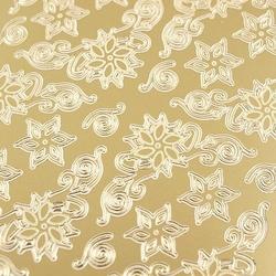 Stickers ażurowy złoty 10x23 cm - narożniki - 274700