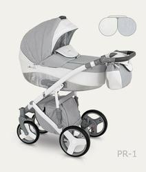Wózek camarelo pireus 4w1 fotel maxi cosi pebble pro i-size + baza 3wayfix