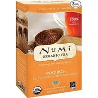 Organiczna herbata rooibos, numi tea, 18 torebek