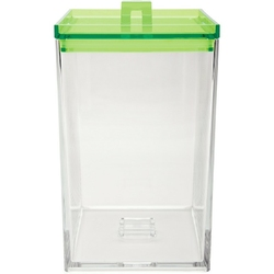 Pojemnik kuchenny zak designs wysoki, zielona pokrywka 0989-0230