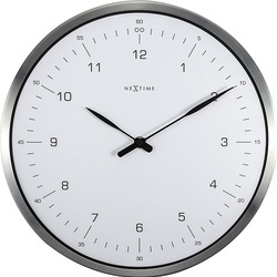 Zegar ścienny 60 Minutes biały
