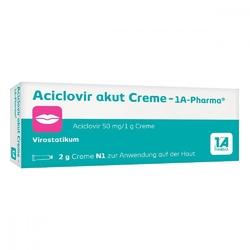 Aciclovir akut creme 1a krem na opryszczkę