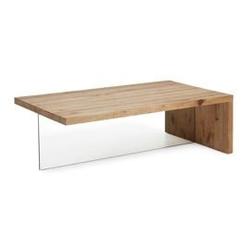 Stolik kawowy triss 70x120cm naturalne drewno