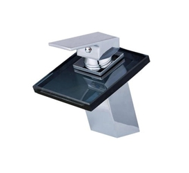 Bateria umywalkowa łazienkowa kran wodospad