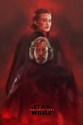 Star wars gwiezdne wojny – ostatni jedi – bohaterowie - plakat premium wymiar do wyboru: 29,7x42 cm