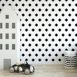 Tapeta dla dzieci - cross design , rodzaj - próbka tapety 50x50cm