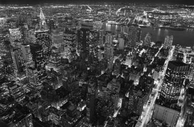 Empire State Building, East View - fototapeta