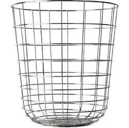 Kosz na śmieci druciany wire menu chrom 9000039