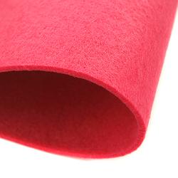Dekoracyjny filc gładki 30x45 cm - różowy ciemny - RÓŻCIE