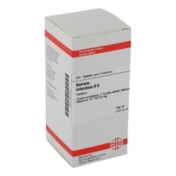Natrium chloratum d 6 tabl.