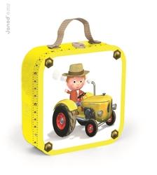 Puzzle 4w1 Traktor Tadka, Janod