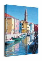 The Colours Of Burano - Obraz na płótnie