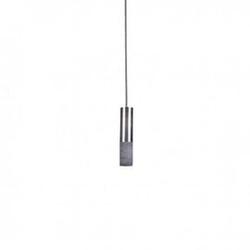 Loftlight :: lampa wisząca kalla inox szara wys. 23 cm
