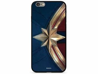 Etui z nadrukiem Glass Marvel Kapitan Marvel 022 Apple iPhone X