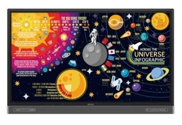 Benq monitor interaktywny 65cali rp6502 led 1200:13840x2160hdmi