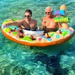Pływający bar tiki