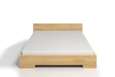 Łóżko drewniane sosnowe ze skrzynią na pościel skandica spectrum maxi  long st