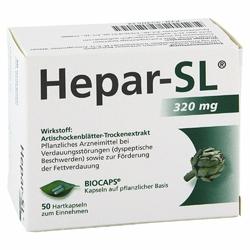 Hepar-SL 320 mg Kapsułki twarde