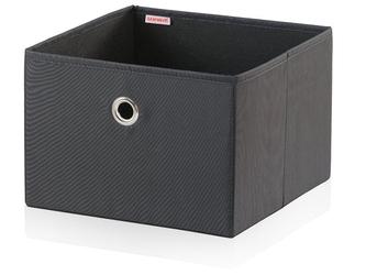 Pudełko do przechowywania, duże, czarne