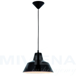Glen lampa wisząca 1 czarny