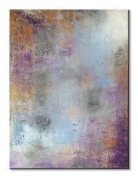 Waterlily silver - obraz na płótnie