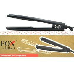 Fox chillout profesjonalna prostownica do włosów z tytanowo lustrzanymi płytkami