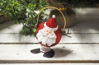 Figurka świąteczna na sprężynie mix wzorów