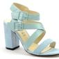 Sandały monnari but0370-m10 turkusowy