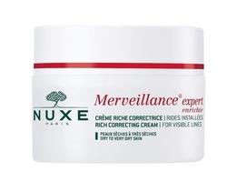 Nuxe merveillance expert enrichie krem korygujący widoczne zmarszczki skóra sucha i bardzo sucha 50ml