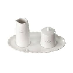 Komplet mlecznik i cukiernica bastion collections