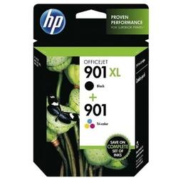 Tusze Oryginalne HP 901 XL BK + 901 C SD519AE komplet - DARMOWA DOSTAWA w 24h
